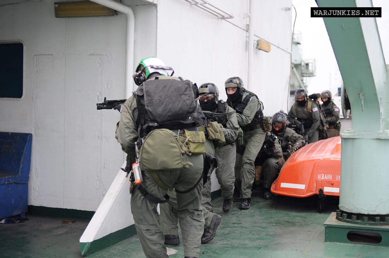 Warjunkies\' Operation Vigilant Storm. Navy SEAL VBSS 1993 (90s)