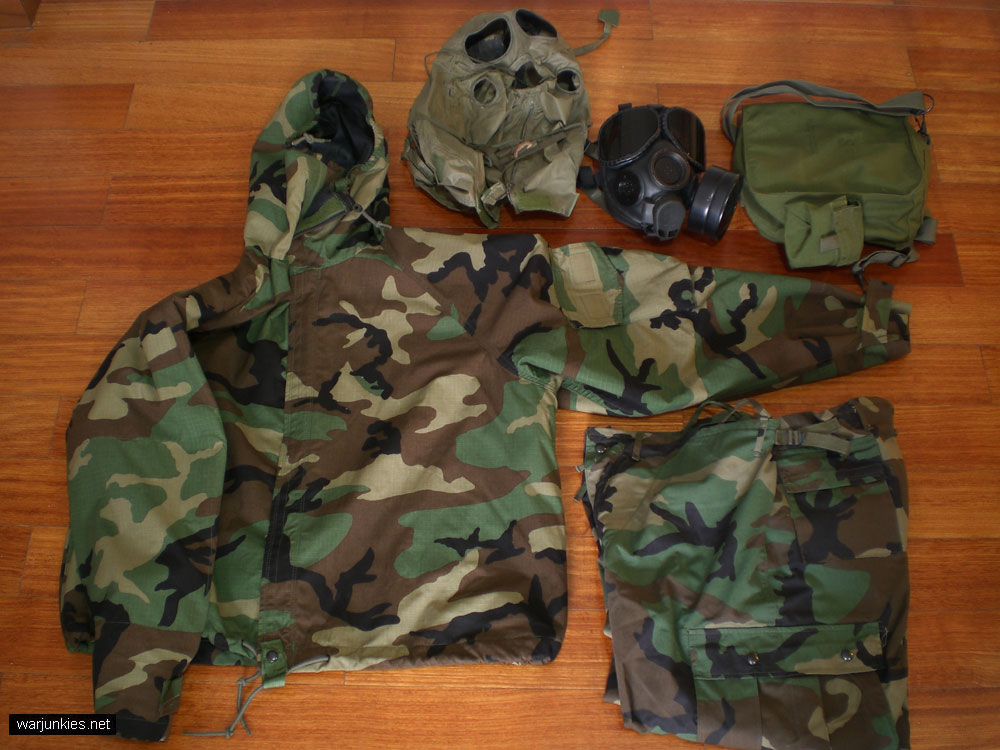 Chemical Protective Suit. Overgarment. 776e4ea2503ec