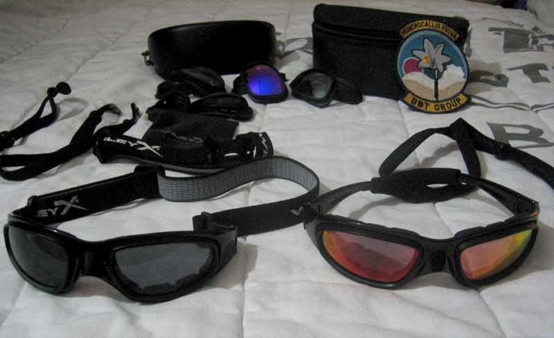 362b44e36e My ballistic sunglasses. Wiley X