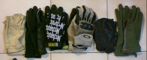 6. Various Gloves