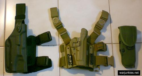 8. Various Holsters