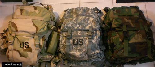 1. Molle Assault Patrol Backpacks