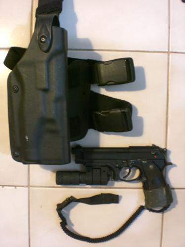 8a. Safariland 6004 Tactical Holster