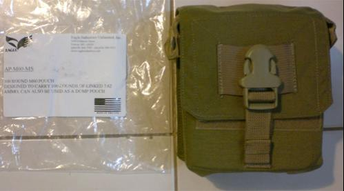 9h. Hard to find 100rd M60 Pouch