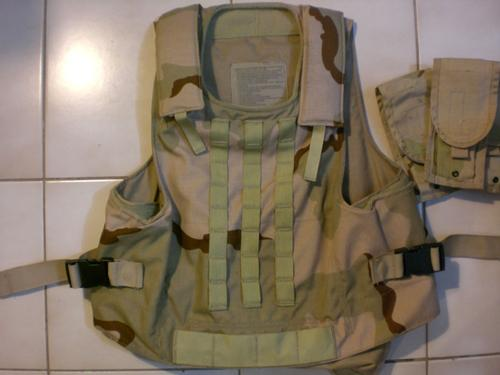 Real SPEAR vest by CERADYNE, Inc.
