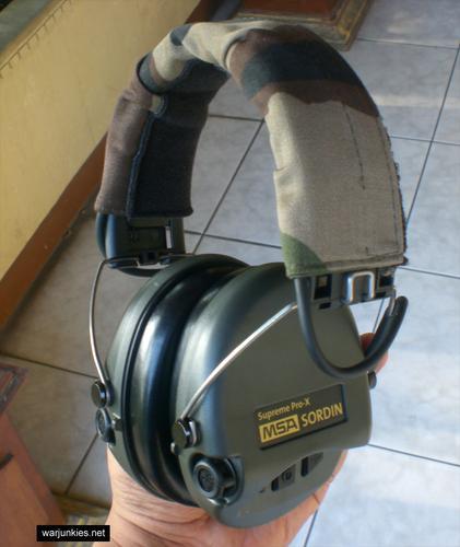 - MSA Sordin Supreme Pro X Waterproof