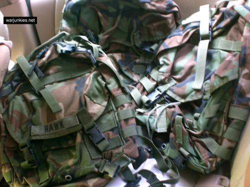 SDS Molle II Patrol Packs