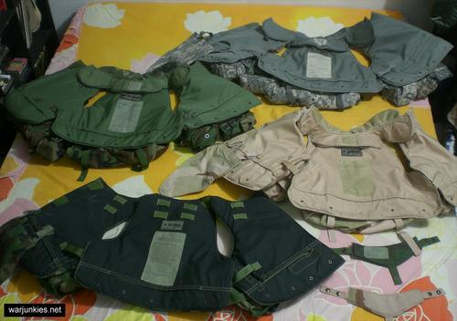 - Various Interceptor Body Armor