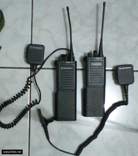 - My Motorola SABER 1E