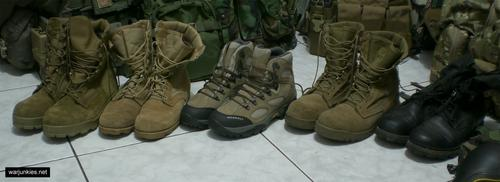 - My boots