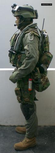 USMC Force Reconnaissance with FSBE vest