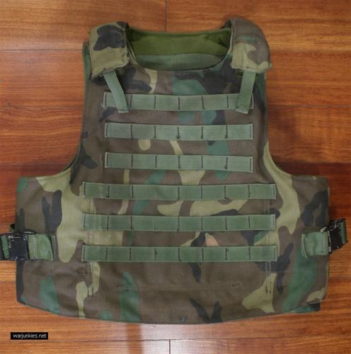 - Woodland SPEAR vest by CERADYNE, Inc.