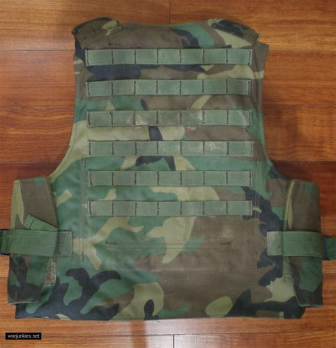 - Woodland SPEAR vest by CERADYNE, Inc.
