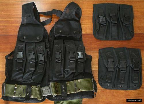 - ABA MP5 modular tactical vest