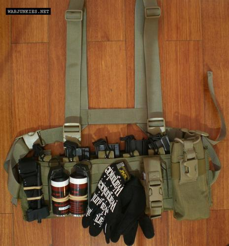 Vel-Tye Low Vis MOLLE Chest Rig