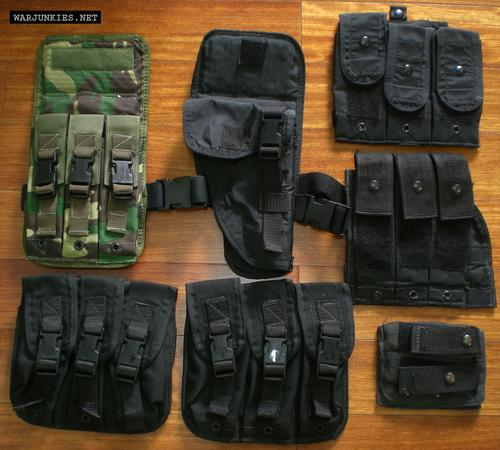 ABA (American Body Armor) pouches.